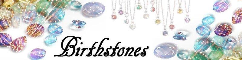 Silver Birthstone Studs