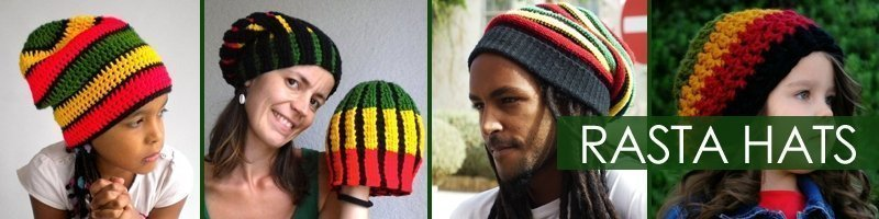 Rasta Design Hats