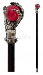 Skull Swaggering Cane Skeleton Hand Decorative Walking Stick - 94.5cm