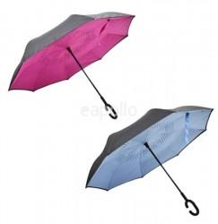 Wholesale Upside Down Umbrella - Assorted Colours