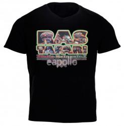 Rastafari Haile Selassie Black T-Shirt