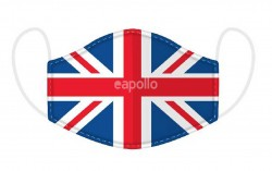 Wholesale Adults Great Britain Union Jack Flag Reusable Face Covering