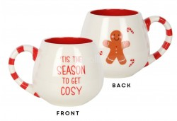Tis The Season To Get Cosy Rounded Mug