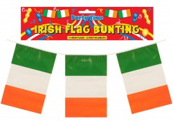 11 Irish Bunting Flags 12 Feet In Length