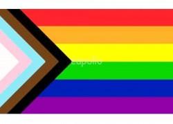 Rainbow Progress Pride Flag - 5ft x 3ft