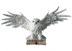 The Emissary Magical Owl Wall Mounted Art Figurine - 49cm