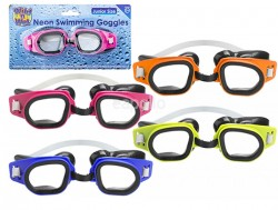 Adults Swimming Goggles - Assorted Colours