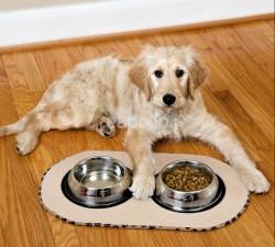 Wholesale Microfibre Pet Bowl Mat