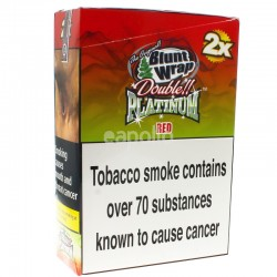 Blunt Wrap Double Platinum 2x - Red