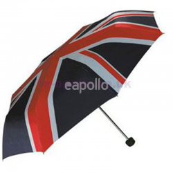 Compact Umbrella- Union Jack Print
