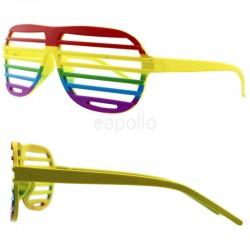 Rainbow Shutter Shading Glasses