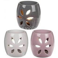 Ceramic Oil Burner Petal Design - Assorted Colours