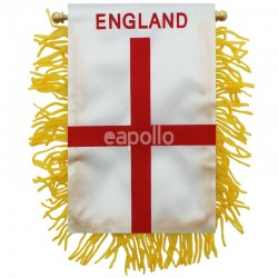 England Mini Banner Flag - 10cm x 13cm Wholesale