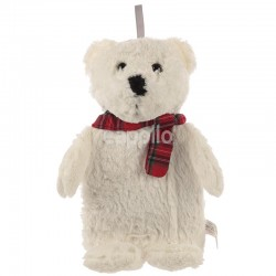Snuggables Polar Bear Hot Water Bottle with Plush Cover Wholesale
