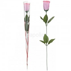 Wholesale Artificial Rose - Pink (12 pieces)