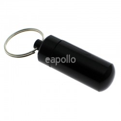 Portable Metal Ashtray Keyrings - Assorted Colours
