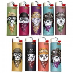 Wholesale BiC Collectable Lighters - Animals - Assorted (x50)