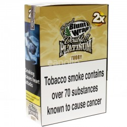 Blunt Wrap Double Platinum 2x - Ivory (French Vanilla)