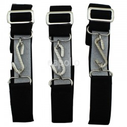 Children's Snake Buckle Belts - Black