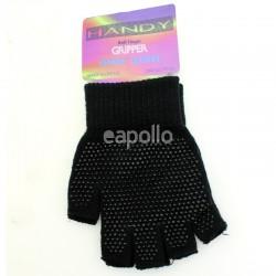 Childrens Fingerless Magic Gripper Gloves - Black
