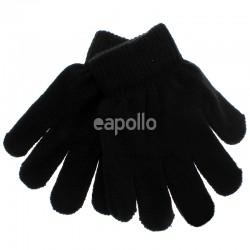 Childrens Thermal Magic Gloves - Black