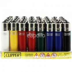 Clipper Micro Flint Lighters - Solid Colours