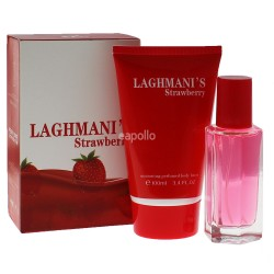 Wholesaler Fine Perfumery 2 Piece Ladies Gift Set - Laghmani's Strawberry