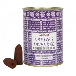 Wholesale Wholesale Goloka Lavender Backflow Incense Cones