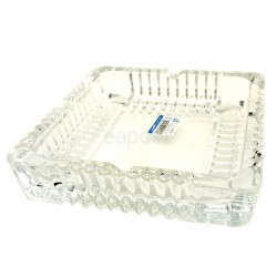 Wholesale Qianli Crystal Natural Type Glass Ashtray Square - 17cm