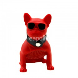 Wholesale Portable Wireless Speaker Dog - Red