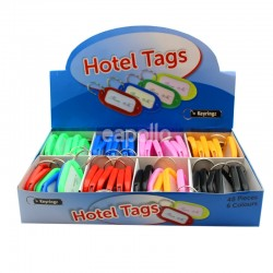 Wholesale Hotel Key Tags - Assorted Colours