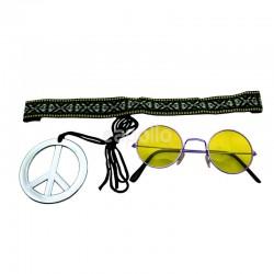Wholesale Instant Hippie Kit - Yellow