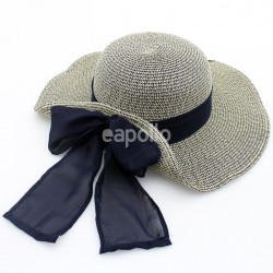 Ladies Summer Hat With Marl Scarf