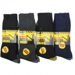 Mens Ultimate Work Socks - Assorted Colours