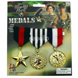 Military Plastic Medal Accessory