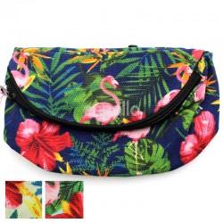Tropical Design Bum Bag - Assorted Colours