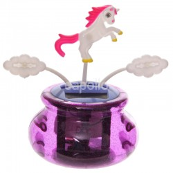 Unicorn and Clouds Design Solar Pal