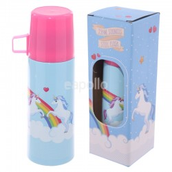 Unicorn Design Stainless Steel Flask - 350ml