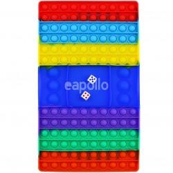 Wholesale Push & Pop Rainbow Bubble Chess Board Game Fidget Toy