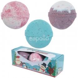 Wholesale Jingle Smells Set of 3 Christmas Bath Bombs