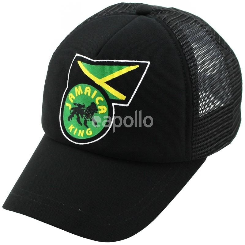 998d51af45a Jamaica King Baseball Cap - Black