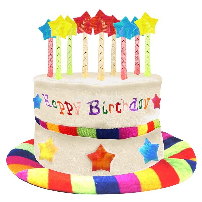 Fantastic Wholesale Adults Rainbow Happy Birthday Cake Hat Uk Wholesaler Funny Birthday Cards Online Aeocydamsfinfo