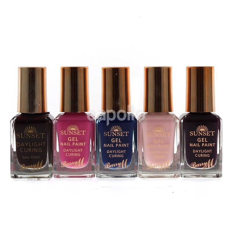 Wholesale Barry M Sunset Gel & Daylight Curing Nail Polish - Assorted