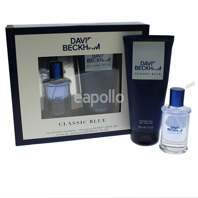 Mens David Beckham Perfume Gift Set Classic Blue Uk Wholesaler