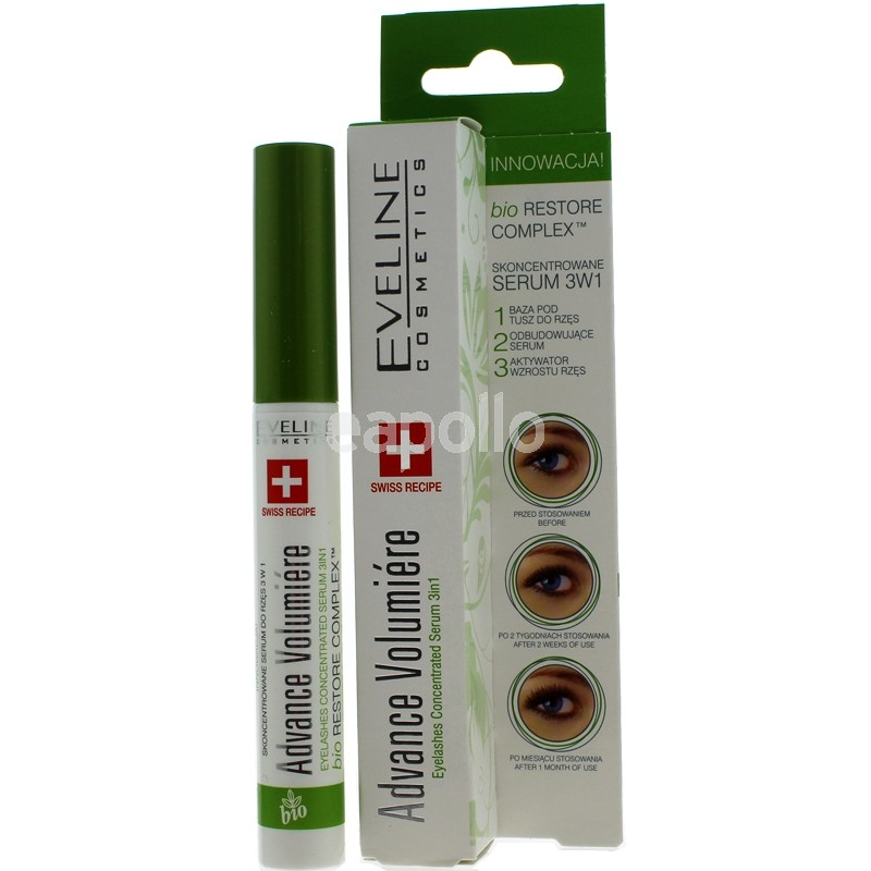 d4226320218 Eveline Eyelashes Concentrated Serum 3 in 1 - Advance Volumiére | UK ...