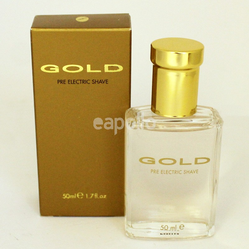 Gold Pre Electric Shave Lotion 50 Ml Uk Wholesaler Supplier
