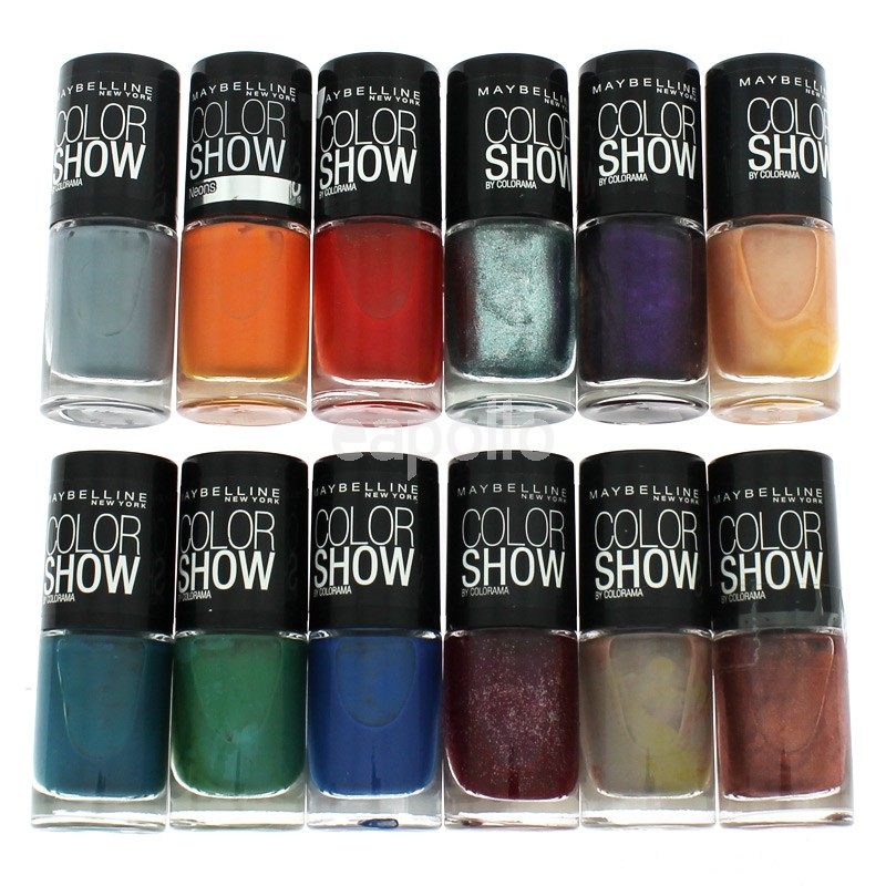 Maybelline Colour Show Nailpolish - Assorted Colours | UK wholesaler ...