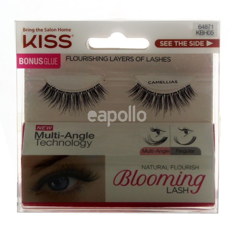 Wholesale Kiss Natural False Eyelashes Glue Multipack Assorted
