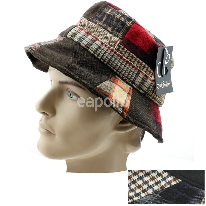 Men s Patchwork Bucket Hat - Assorted Colours  10a788f7d77