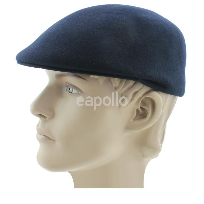 33eb60d6e45a4 Quality Hand Made Major Wear Wool Black Flat Cap